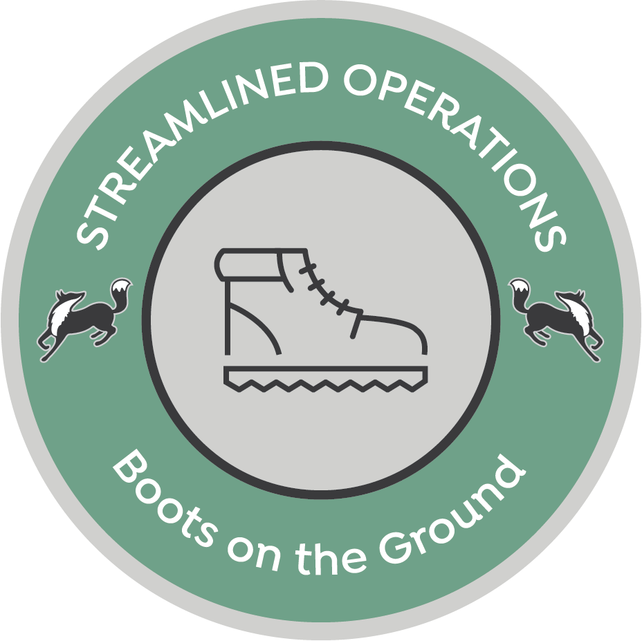 Streamlined Operations graphic